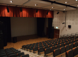 Image of empty theatre in Belmullet Arts centre